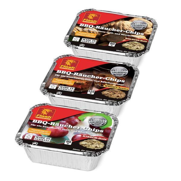 Räucher-Chips 3er-Probierpack -