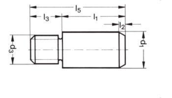 Einspannzapfen - Einspannzapfen DIN ISO 10242 (DIN 9859)