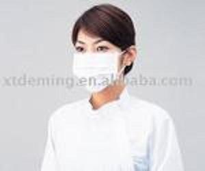 Mascarilla desechable con lazo para el oído y elástico