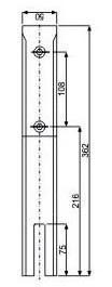 Glass Spigot - JGS-5220