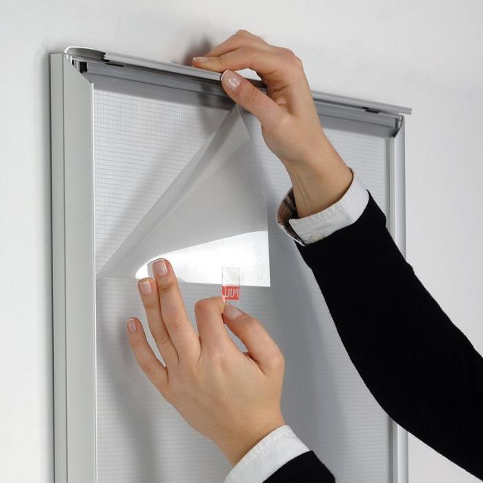 Led Licht Pocket Leuchtrahmen Klapprahmen  - LED Display für das Schaufenster