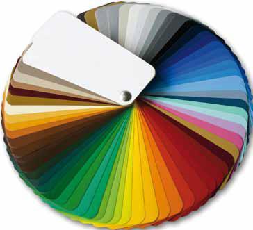 Welltherm RAL infrarood verwarming - Leverbaar in elke RAL kleur