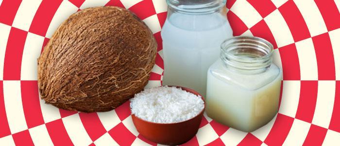 Kokosnusswasser - KOKOSNUSSROHSTOFFE