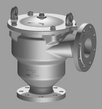 Pare-flammes de détonation, KITO FDN-Det4-IIA-... - Protège récipients/composants contre détonation stable liquides/gaz inflammables