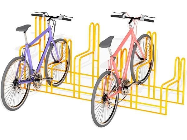 Aparca bicicletas - con diferentes posibilidades en numero de plazas