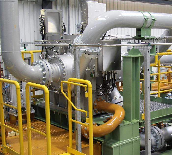 Integrally geared centrifugal compressor for process gases - API 617 and 672