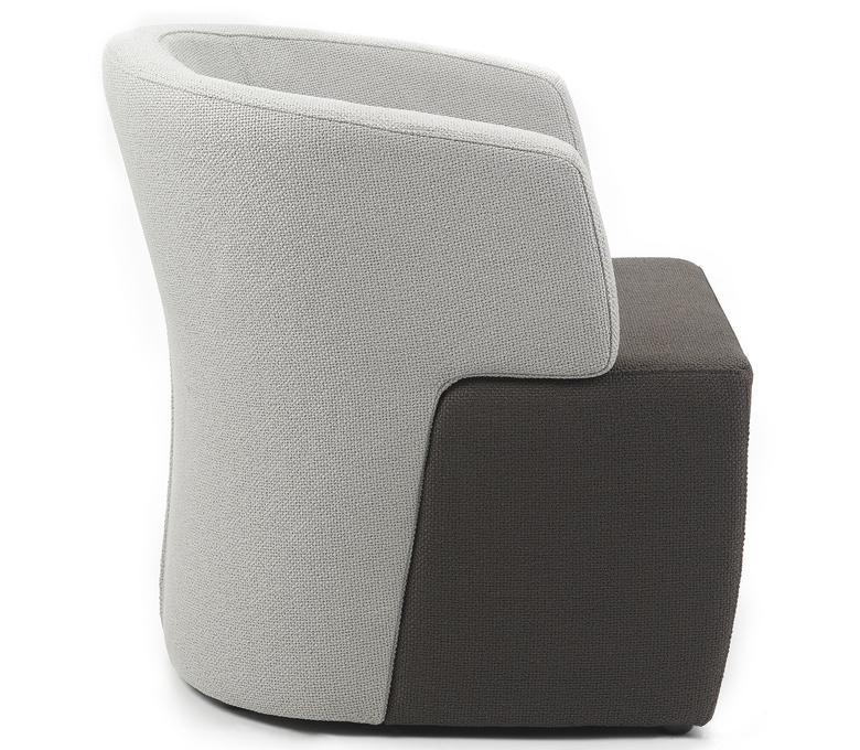 fauteuils - LOUNGE 40CM BICOLOR