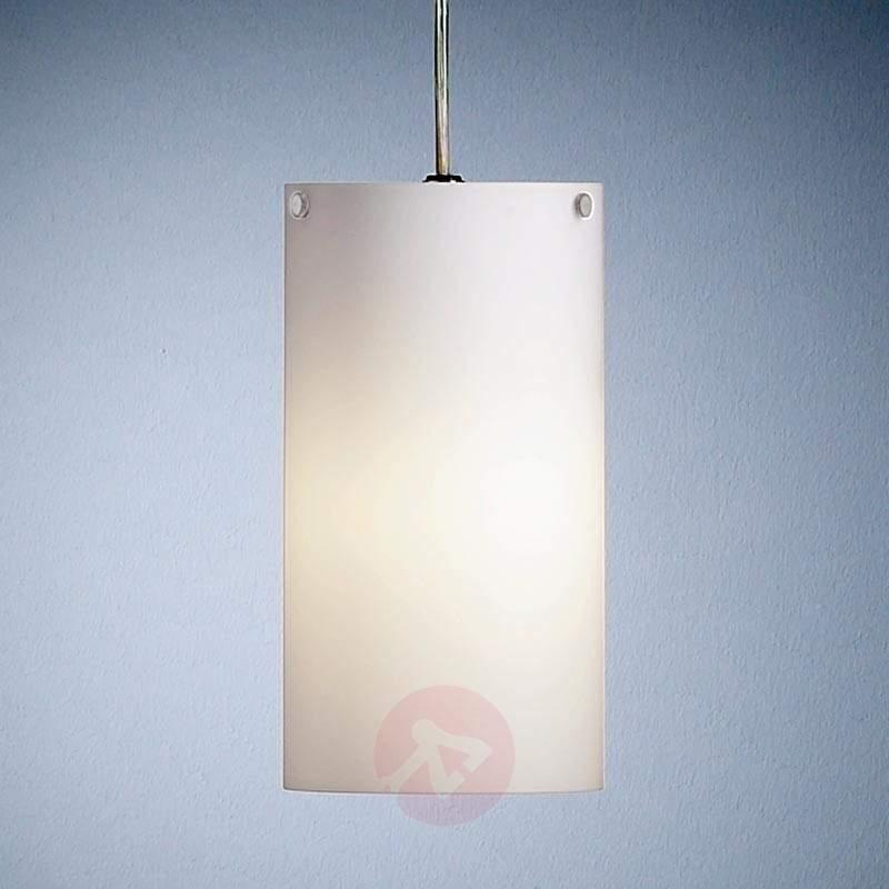 Cylindrical hanging light by Walter Schnepel - Pendant Lighting