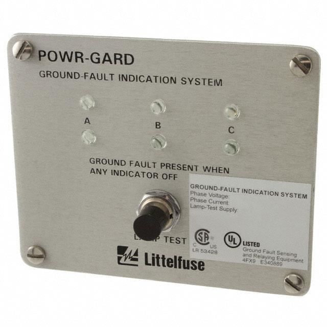 GRND FAULT INDICAT SYST LED 30V - Littelfuse Inc. PGR-3100