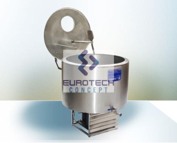 Tank à lait réfrigéré TST08-ET -
