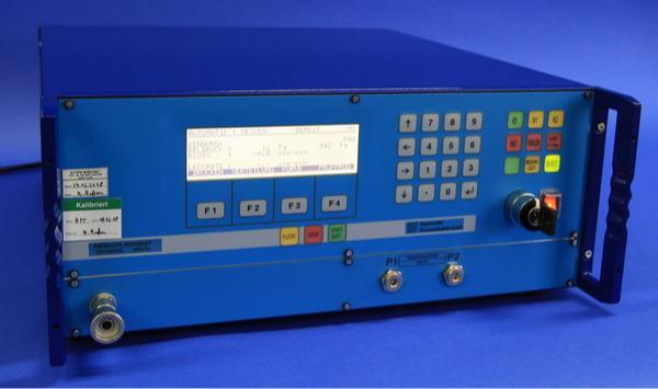 Comprobador de fugas PMD02-CFL/DFL - Método de flujo másico con tecnología de desbordamiento para presión positiva o
