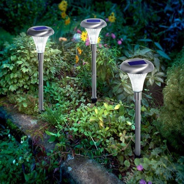 Set de 3 lampes solaires Capri en inox - Toutes les lampes solaires