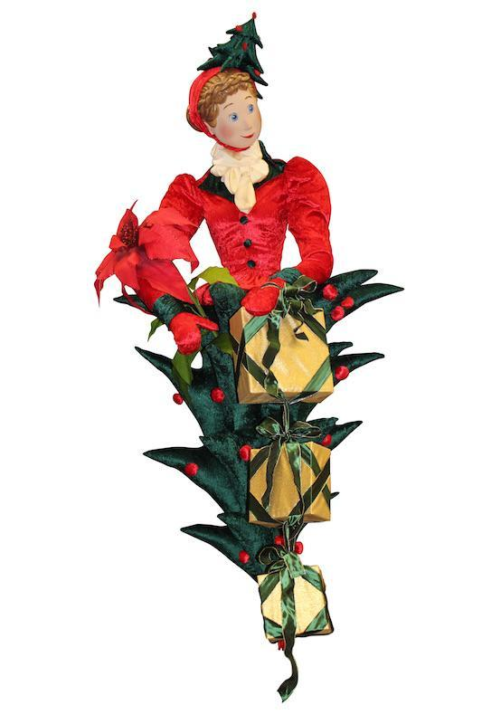 "Floating Christmas Lady ""Christmas Tree"" - null"