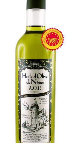 A.O.P. Huile d'Olive de Nîmes 75CL - Produits oléicoles