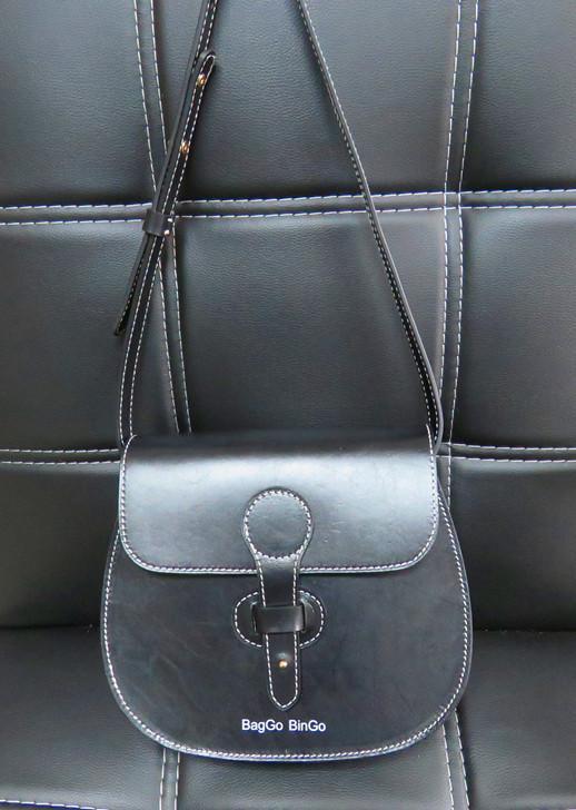Edgy Leather Bag,Chic Crossbody Bag - Custom leather purse,custom leather bag,custom handbag