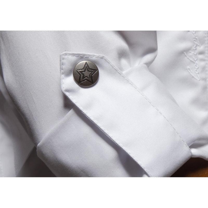 Veste chef femme - Zip - Vêtements