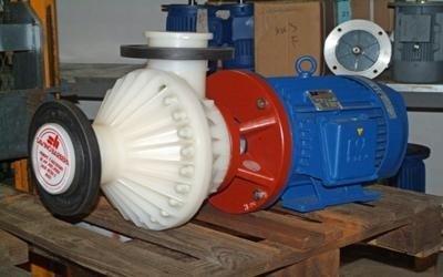 Pompe orizzontali modello OMA - Pompe a sottobattente e tenuta meccanica