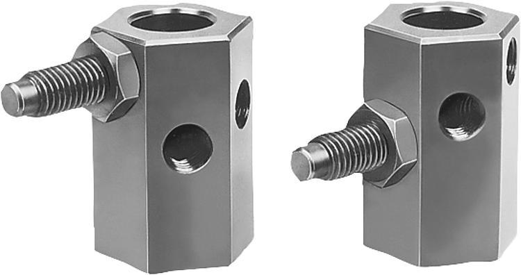 Stops Adjustable - Spring plungers Indexing plungers Stops Centring/positioning components Ball loc