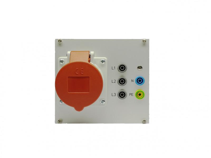 Energieverteilung - Datenschnittstellen, Steckdosen, Laborbuchsen,Leistungs-/Motorschutzschalter