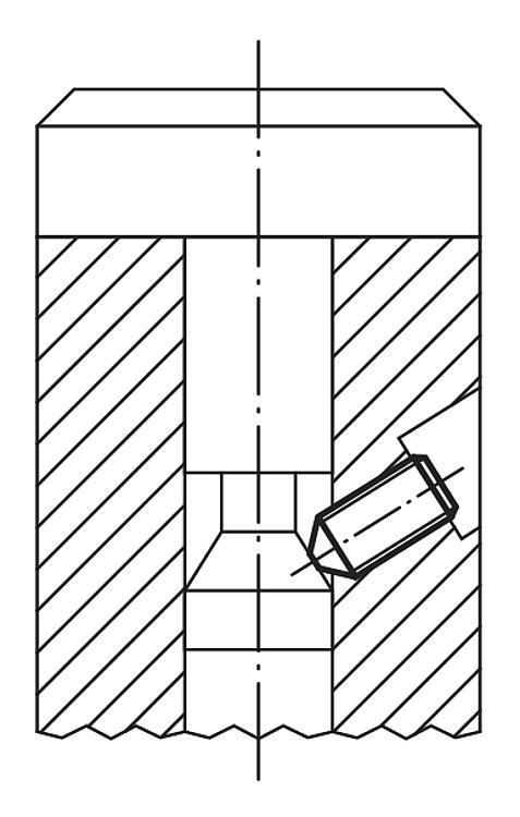 Vis HC à bout pointu DIN 914 / DIN EN ISO 4027 - Vis à patin et patins