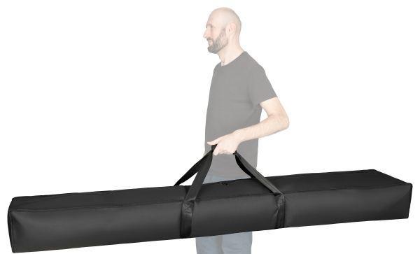 Transporttasche 2m  - Tragegriff, stabiler Reißverschluss