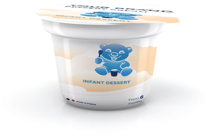 Weaning food - Infant cream desserts (from 6 months)