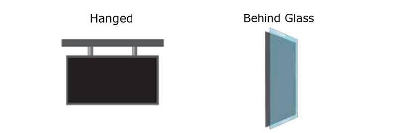 VITRUM – Ledwall trasparente per vetrina e scenografia - null