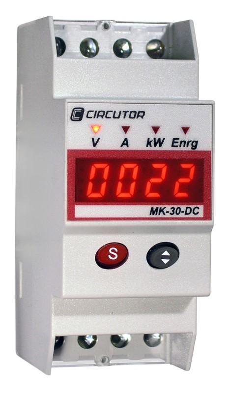 MK-DC - Compteur d'énergie DC - Compteur d'énergie à courant continu