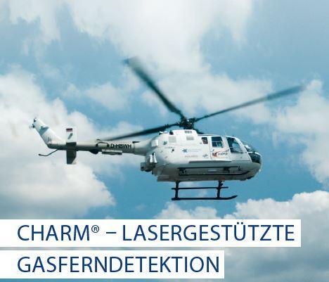 CHARM - Lasergestützte Gasferndetektion -