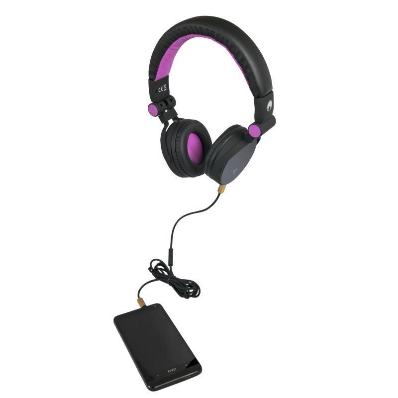 DJ-Kopfhörer - Omnitronic SHP-i3 Stereo-Kopfhörer pink