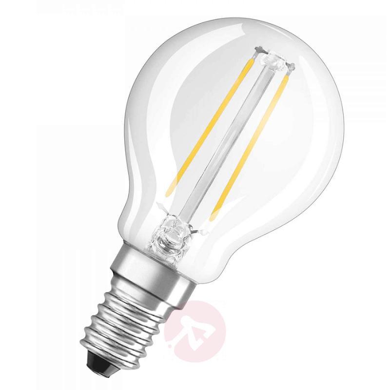 E14 2.8 W 827 LED golf ball bulb retrofitclear - light-bulbs