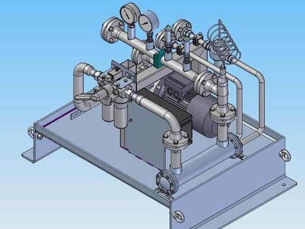Gearbox oil supply system - Gearbox Oil Supply System for Industral Gearboxes