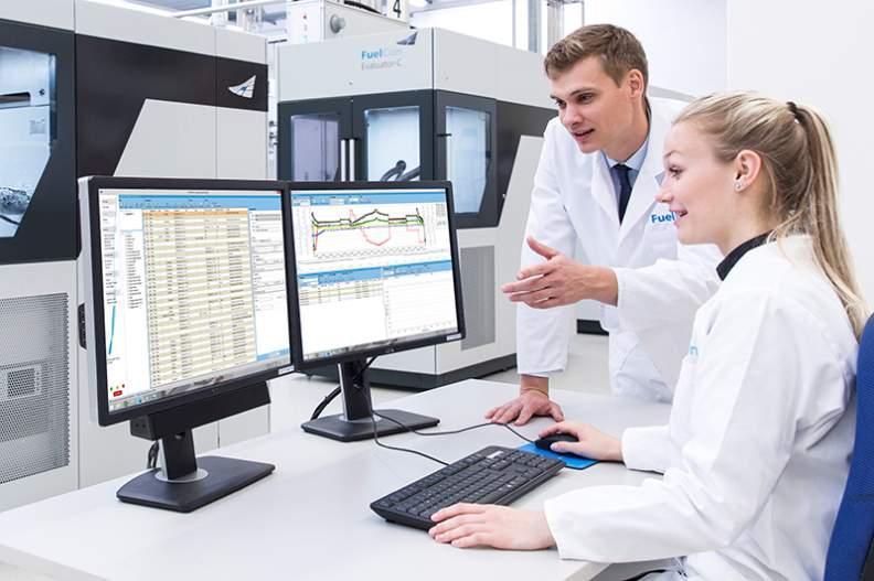 Prüfstand für PEM-Einzelzellen und kleine Zellstapel - Prüfstand für das Testen von PEM-Komponenten sowie Einzelzellen bis 1.000 W