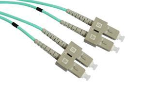 SC-SC OM3 Multimode Duplex Patch Cord -  SC-SC OM3 Multimode