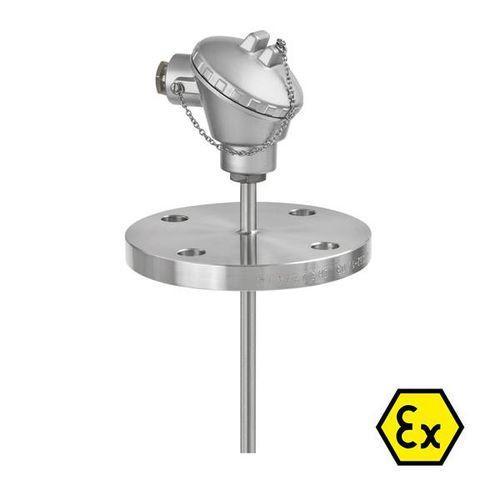 OPTITEMP TCA-F13 - Thermocouple à bride / résistant à l'abrasion