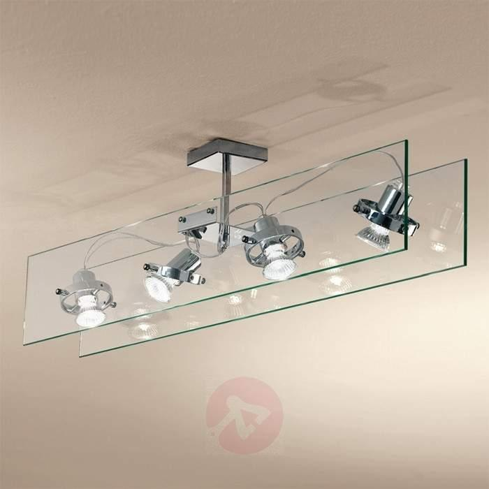 Glass ceiling light ORBIS - Ceiling Lights