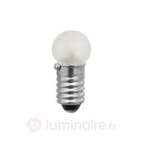 Pack de 3 lampes effet goutte gèle E5 0,4W 12V - Ampoules à l'unité