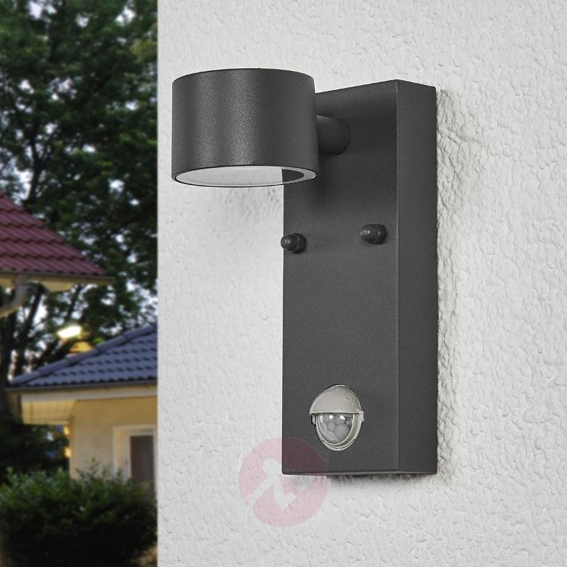 Outdoor LED wall light Lexi with a sensor - Outdoor Wall Lights