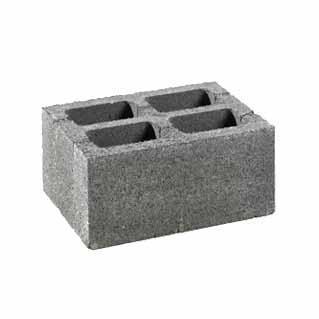 Hohlblock- und Mauersteine - Belgische Formate