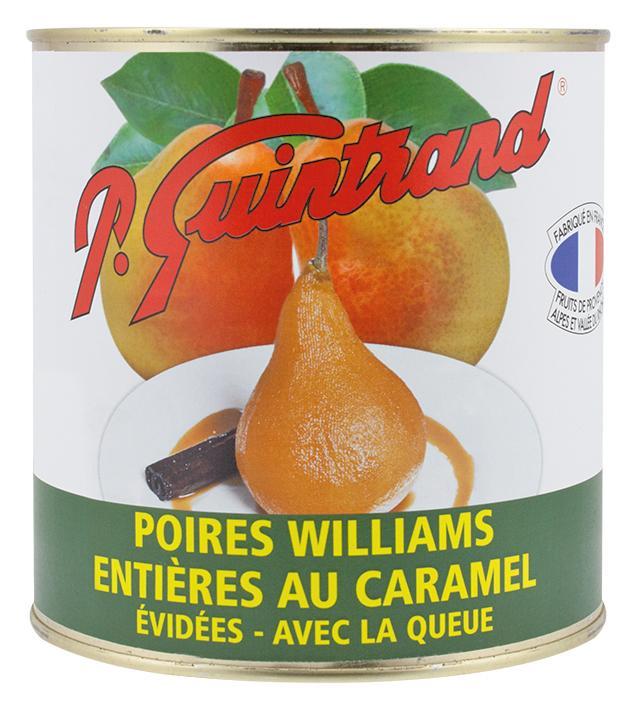 1/2 poires Williams au sirop -  boite 5/1 3/1 4/4