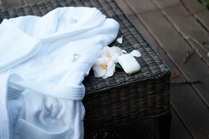 Peignoir en coton -