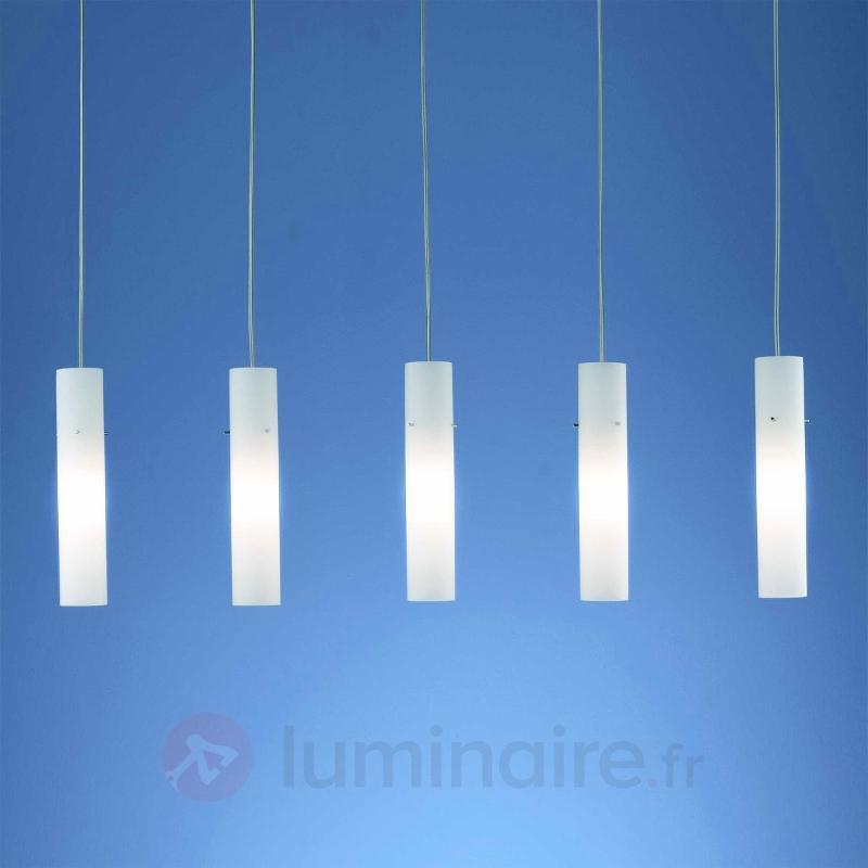Suspension raffinée Adeline à 5 lampes - Cuisine et salle à manger