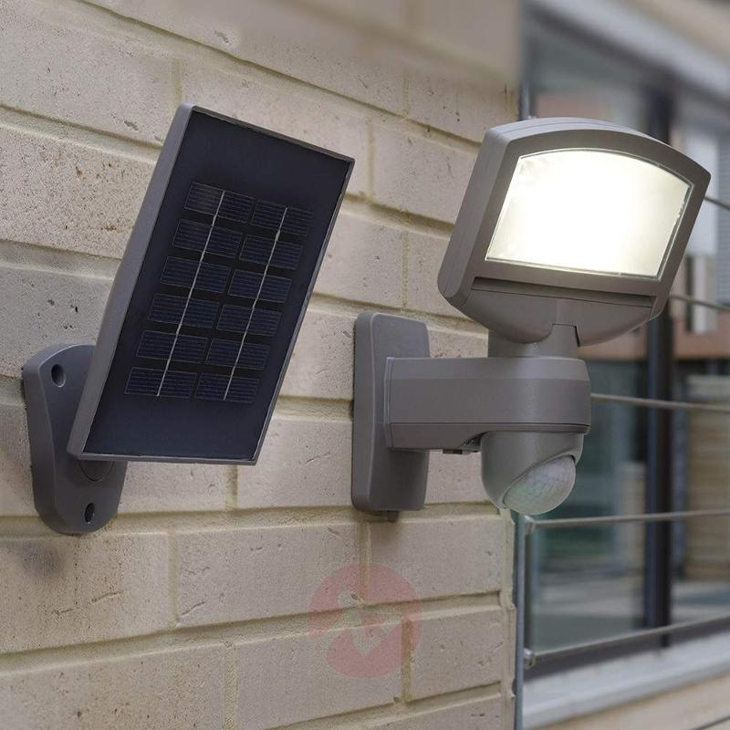 Lord Sunshine LED solar ext wall light with module - Solar Motion Sensor Lights