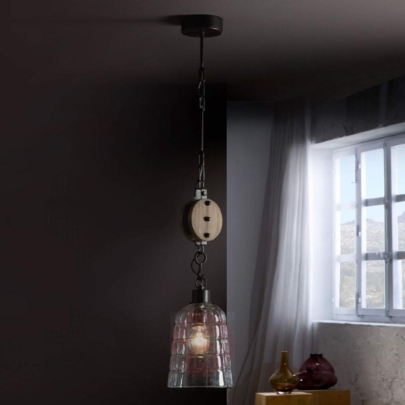 Estiba - hanging lamp in a vintage style - design-hotel-lighting