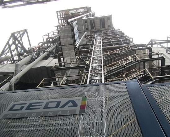 GEDA MULTILIFT P12 P - GEDA MULTILIFT P12 P - Personnel and Material Hoists