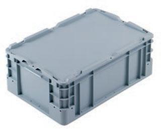 Kunststoffbehälter - DE-LINE mit Auflagedeckel