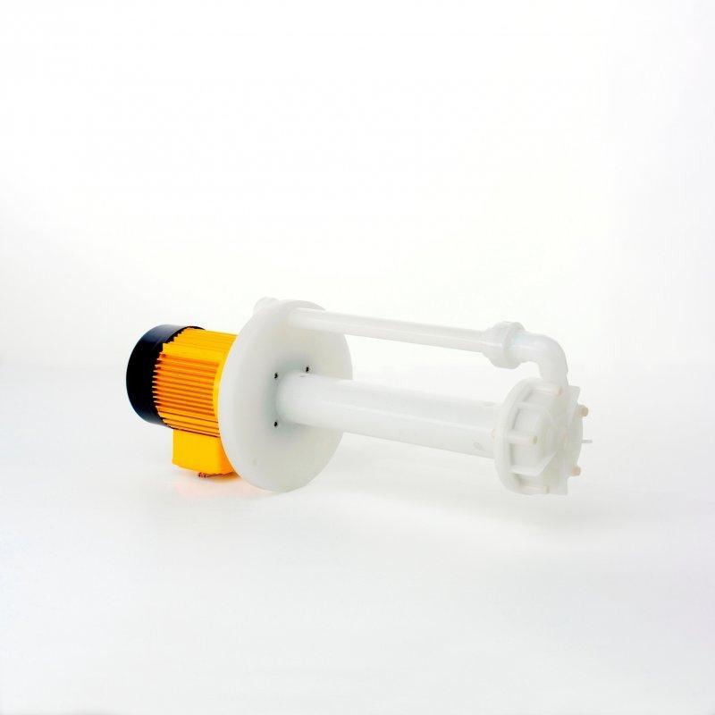 Submersible pumps series T, sealless PVDF or PP