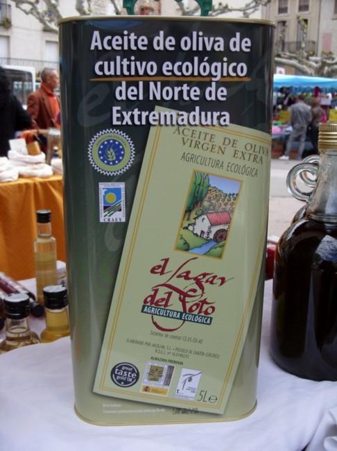 """Huile d'Olive Vierge Extra Biologique - """"Lagar de Soto"""" 1ère Pression à Froid"""