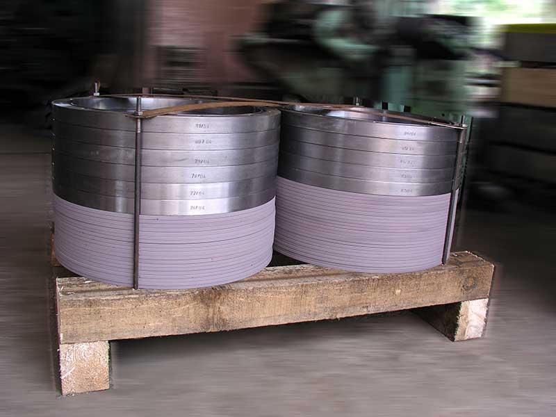 Komponenter av stål -