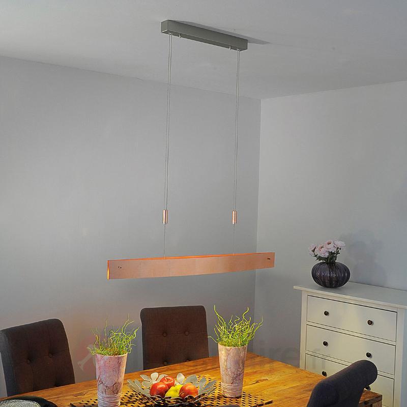Suspension LED Malu cuivre antique 100 cm - Suspensions LED